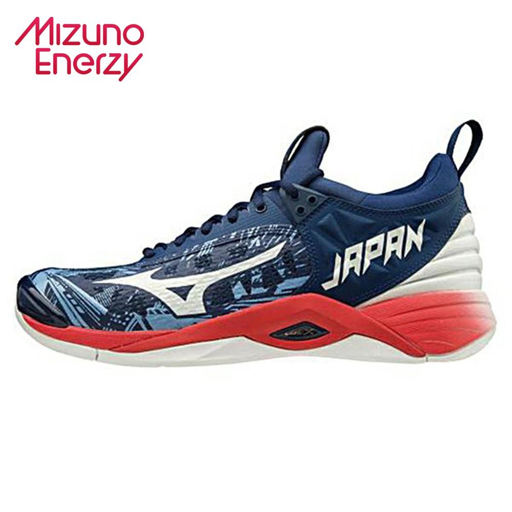 MIZUNO WAVE MOMENTUM 2 JAPAN 男款排球鞋 贈運動襪 V1GA191164 21SS