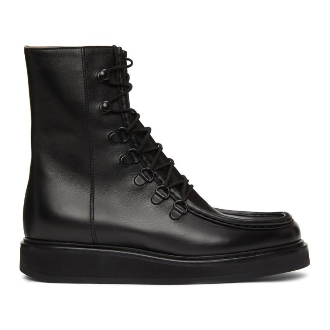 Legres 黑色 College 踝靴