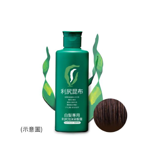 【Sastty】利尻泡沫染髮露 (褐色/咖啡色/黑色)★邊洗髮邊上色,不含矽靈、防腐劑、香料、礦物油