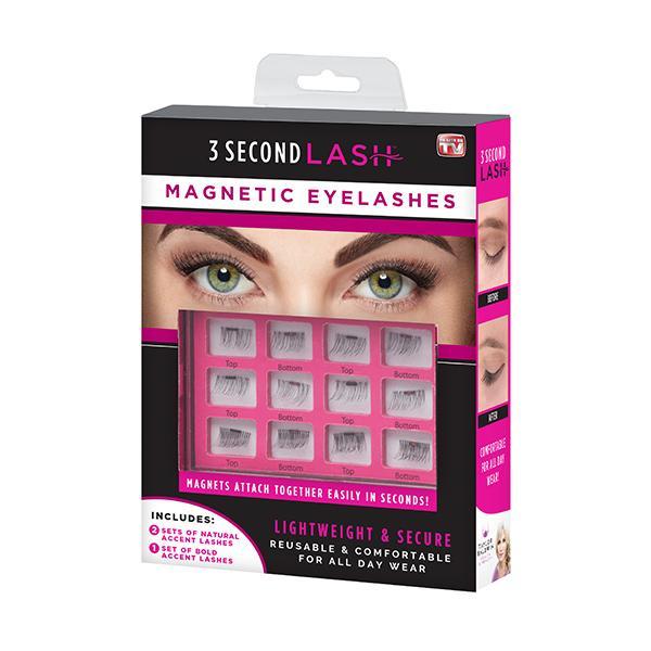 *一秒上妝法*3 SECOND LASH 美國磁吸式3D 假睫毛