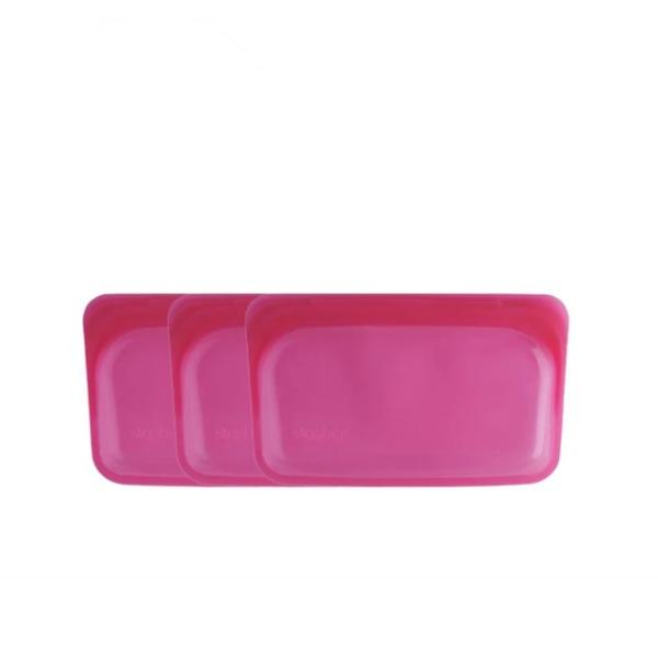 【Stasher】長形矽膠密封袋 3 入優惠組 ( 5色可選 )