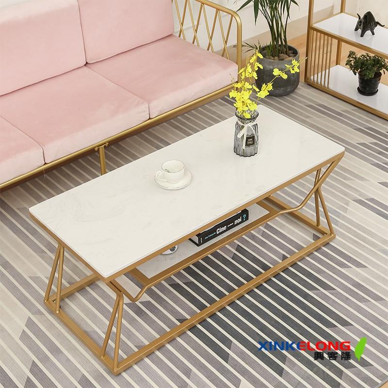 興客隆 茶幾 北歐 大理石桌 小戶型 現代 輕奢 桌 傢俱