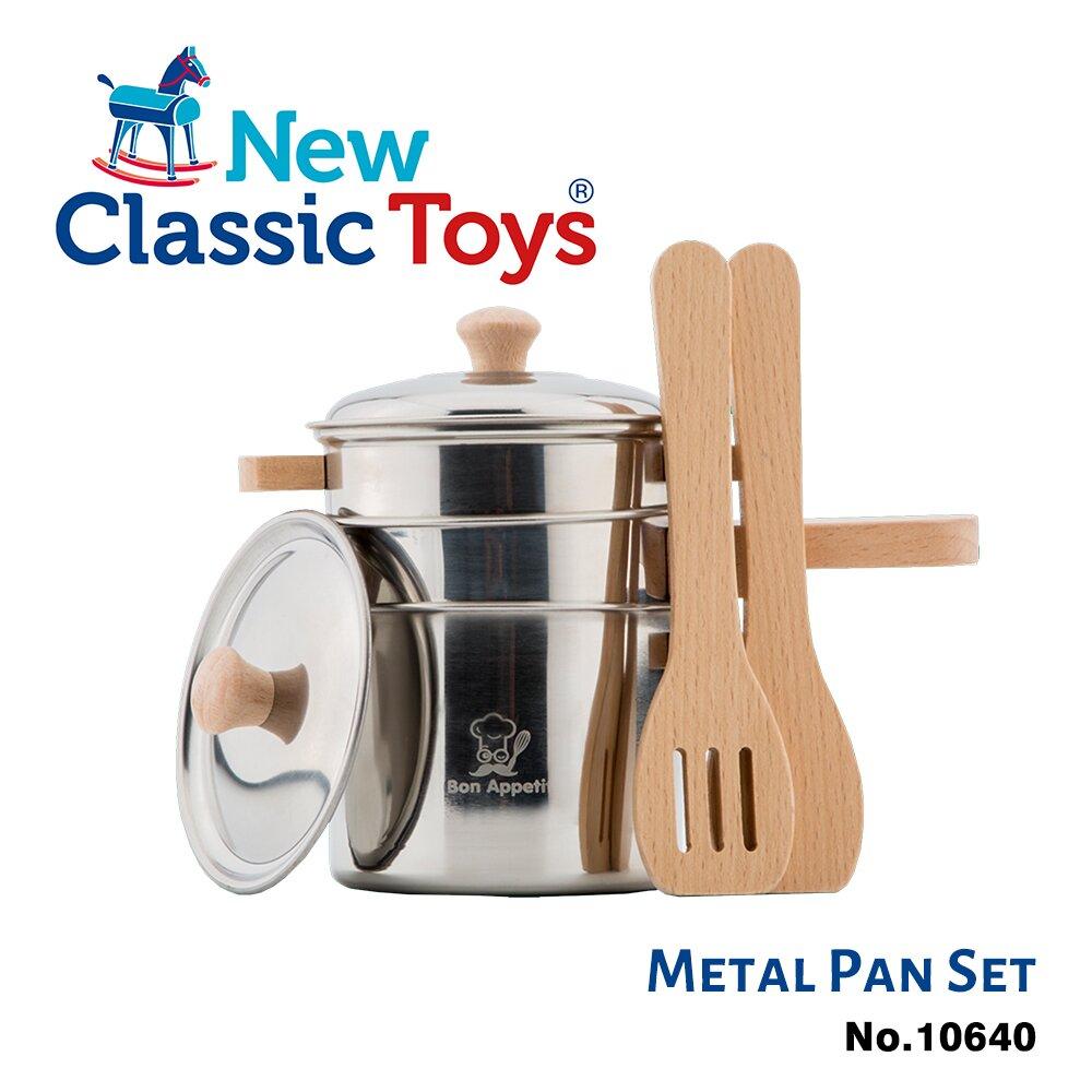荷蘭【New Classic Toys】夢想主廚鍋具套件組10640