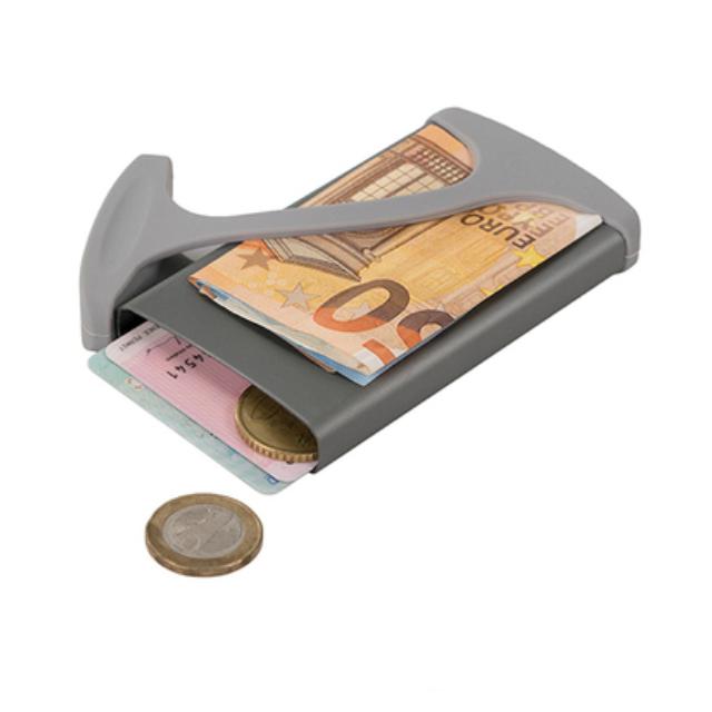 【HUG CASE】極簡時尚 / 輕薄便攜 / 多功能錢夾卡夾 ( 金屬款 $495,皮革款 $1150 )