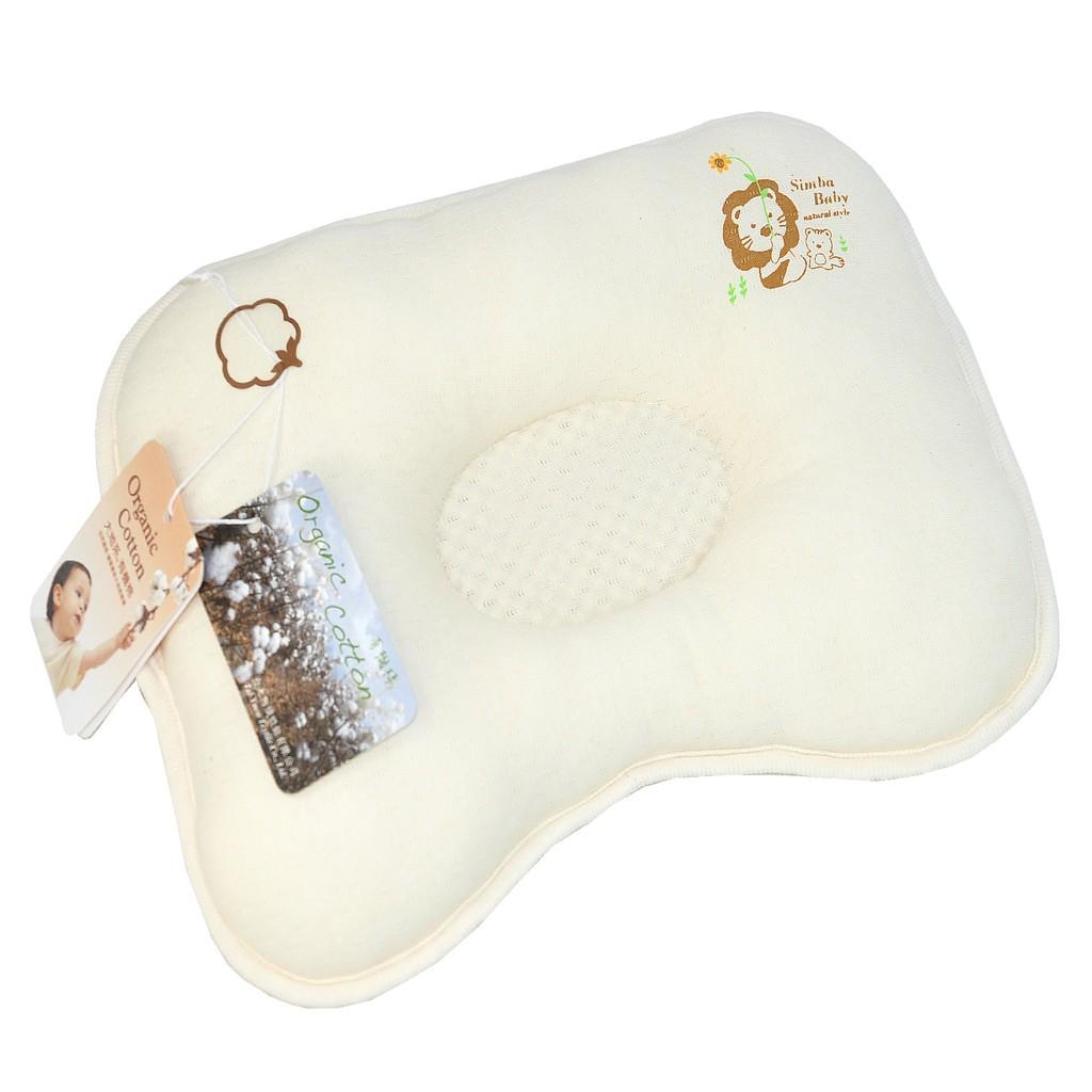 Simba小獅王辛巴有機棉透氣枕S.5016, 不含螢光劑、甲醛不做任何化學染整,保留原棉色澤 娃娃購 婦嬰用品專賣店