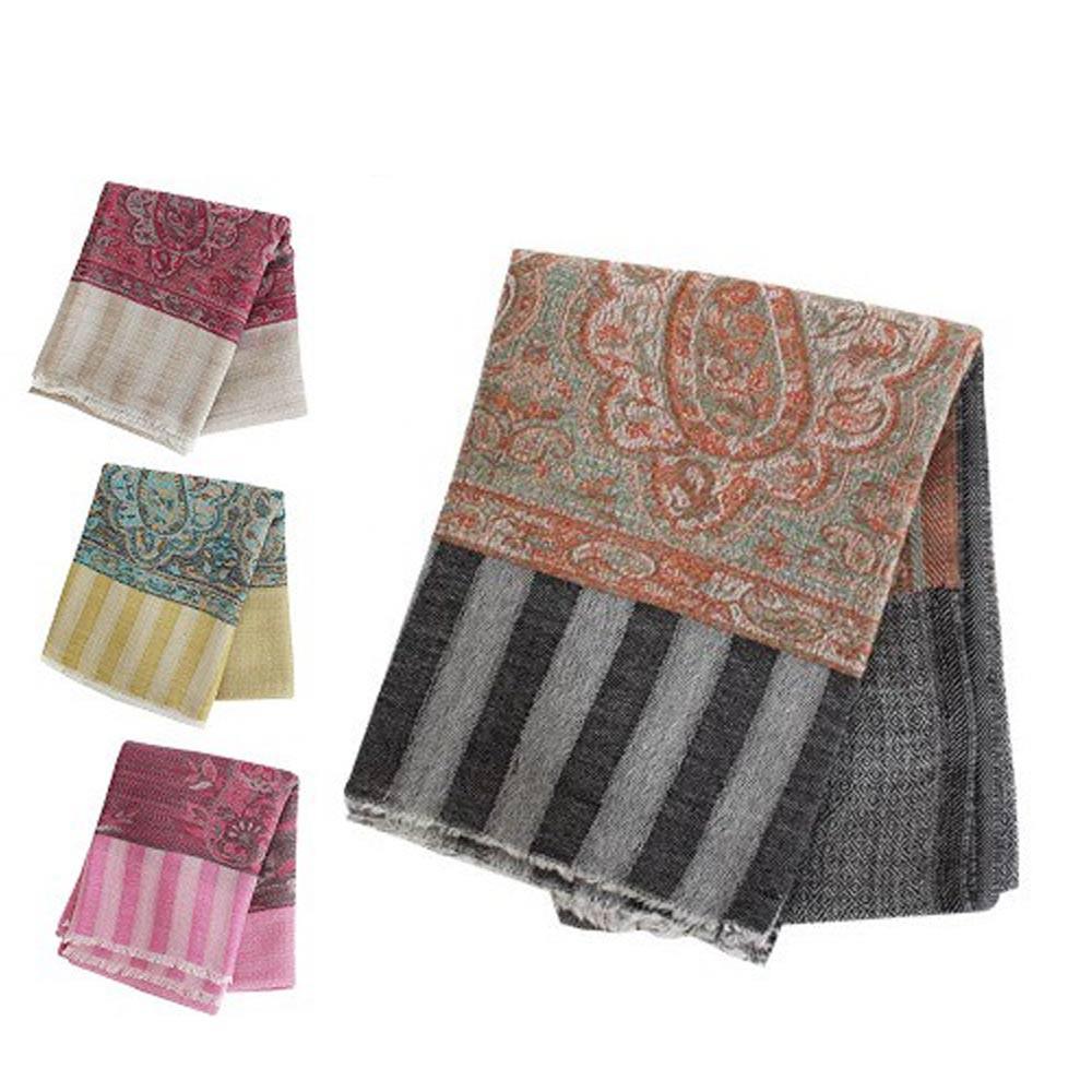 【LOVEL】極致尊榮喀什米爾純羊毛圍巾(花紋) 共6款《屋外生活》現貨速出 高質感保暖圍巾