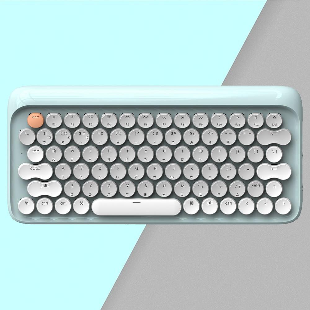 LOFREE 打字機鍵盤|全球限定注音版 (夏 / 青)<現貨><免運>