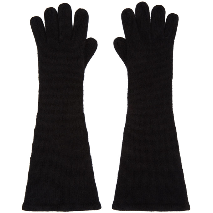 Toteme 黑色羊绒手套