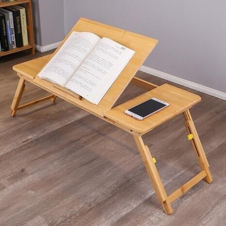 與竹同 床上小桌子家用可摺疊筆記本電腦桌懶人宿舍神器床上書桌 新年特惠