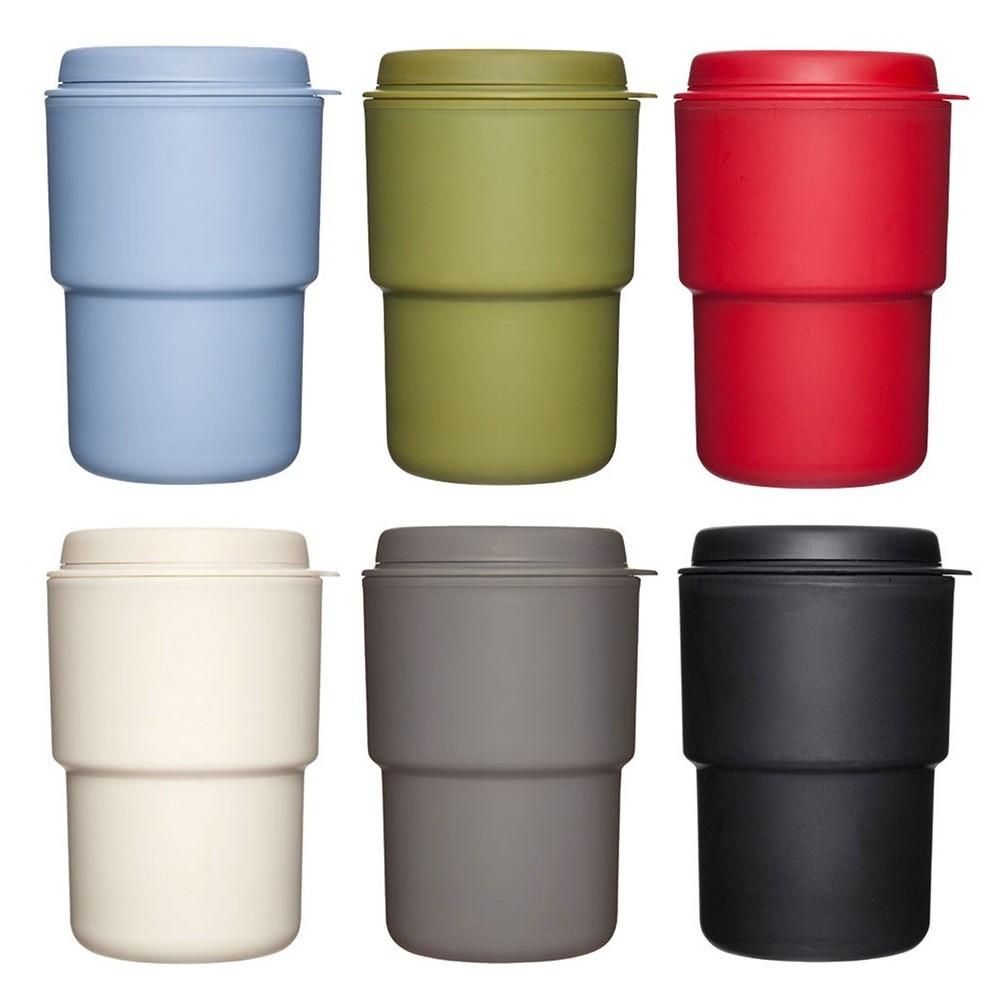 【日本Rivers】WALLMUG DEMITA戶外隨行杯290ml-共7色 咖啡杯 兩用杯蓋 《屋外生活》