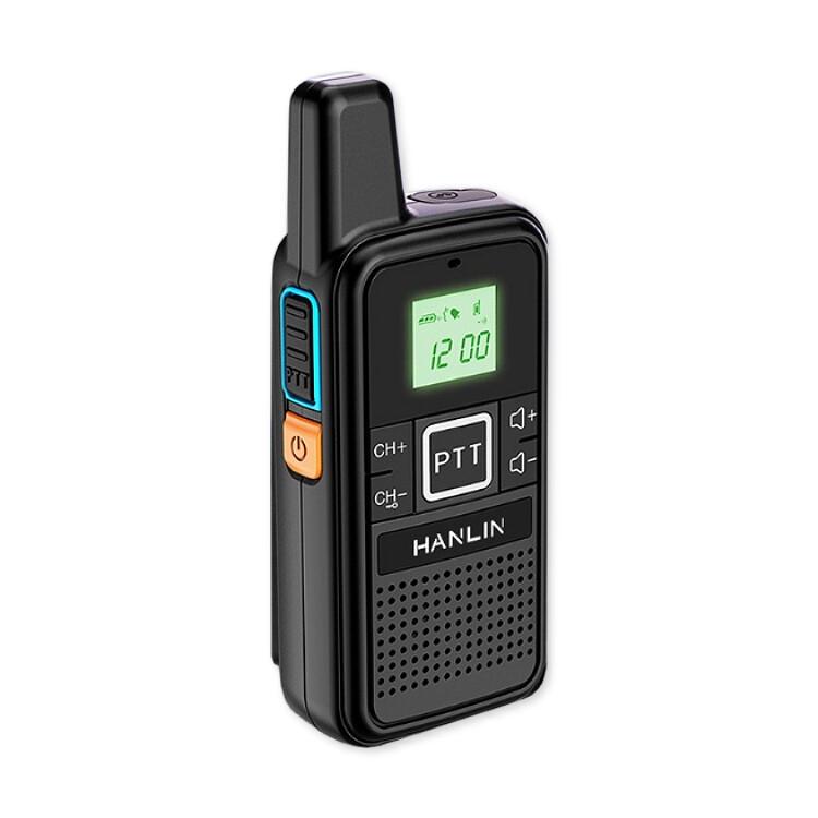 迷你手持無線電對講機 (1入) usb充電對講機 無線對講機 手持調頻對講機