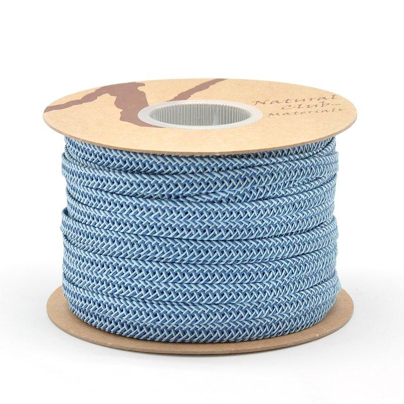 手編環保紙織帶-雙色 50公尺 手作編織材料 台灣製 (11色)