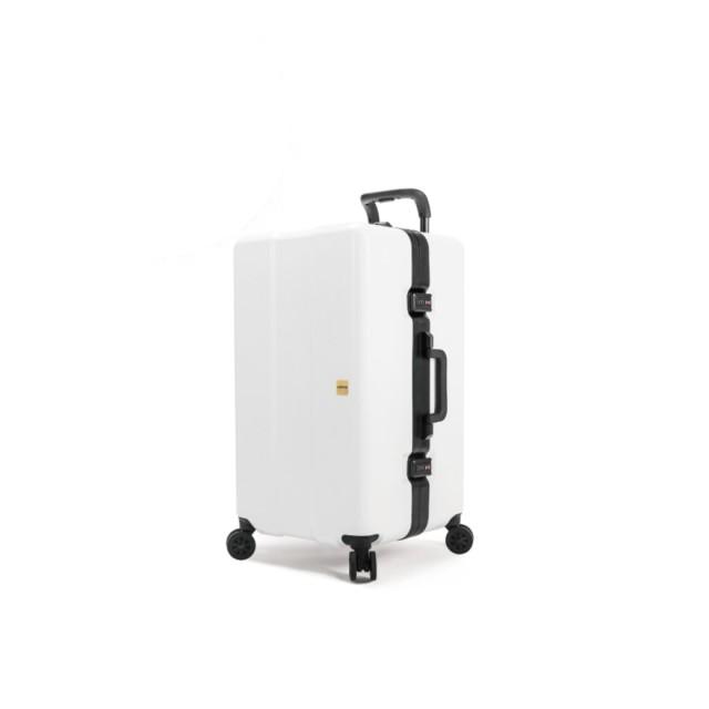 【OUMOS】 2019 New Double White 雙層白 29 吋旅行箱*加贈香氛包一組*