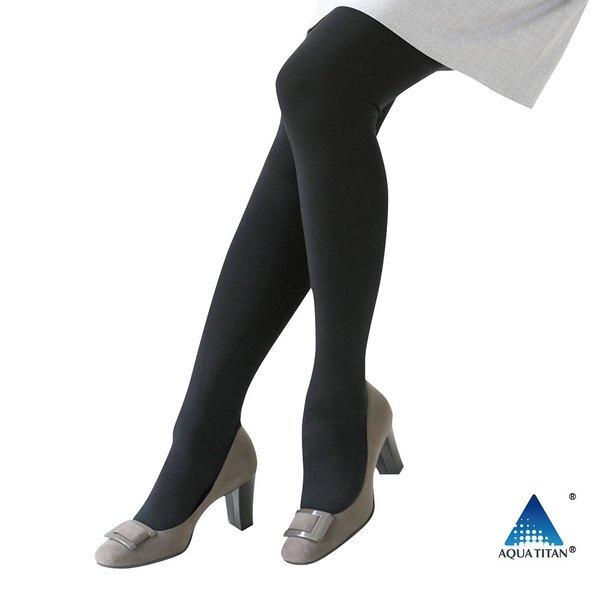 Phiten 厚長褲襪 / 黑