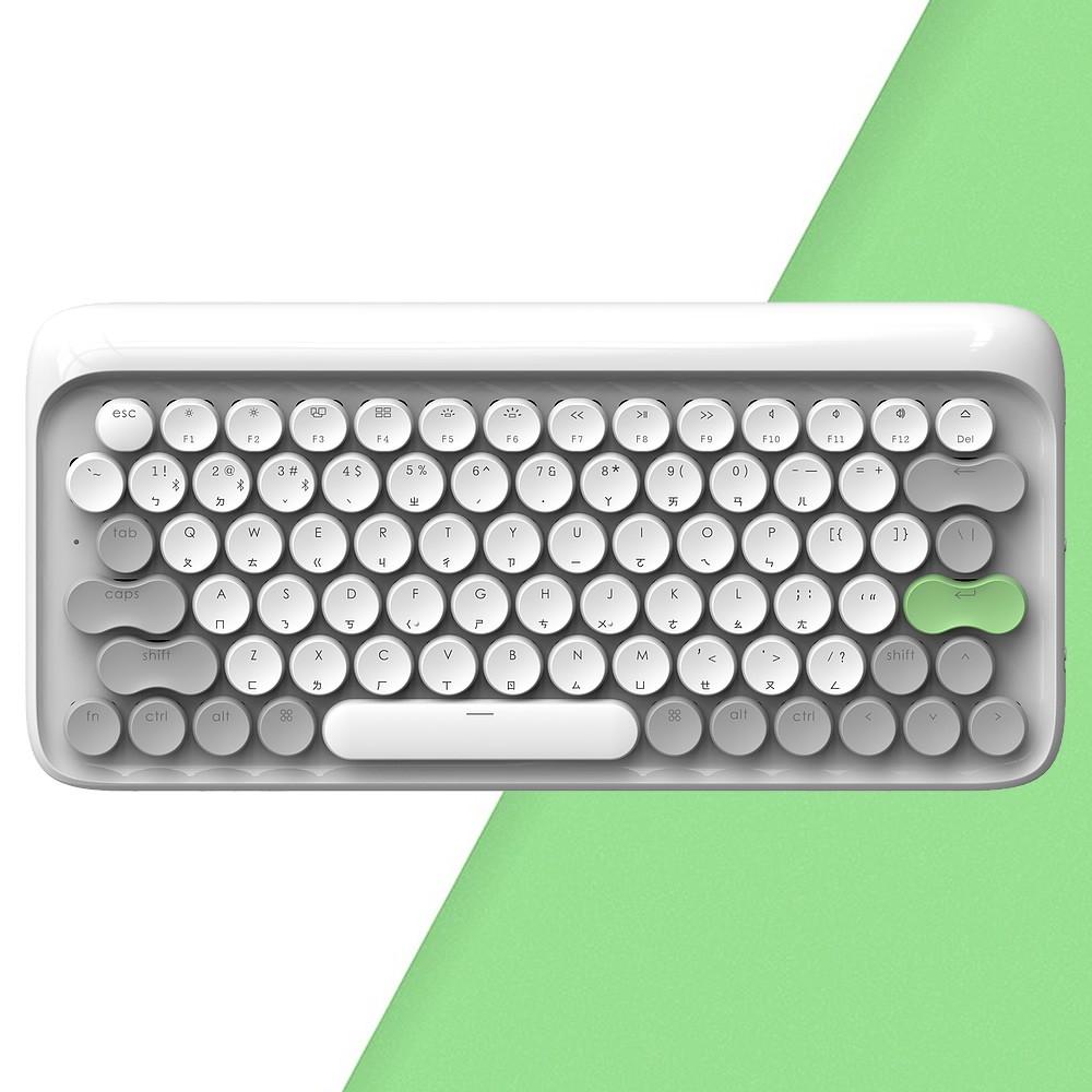 LOFREE 打字機鍵盤|全球限定注音版 (春 / 白)<現貨><免運>