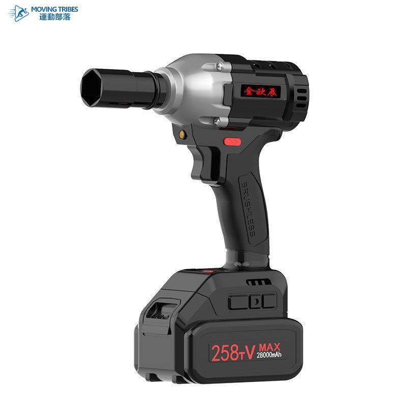 德國無刷電動扳手鋰電架子工木工充電套筒扳手電動板手電動板風炮