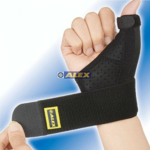 [大自在體育用品] ALEX T-41 三支架 護腕 護指(只) 護具