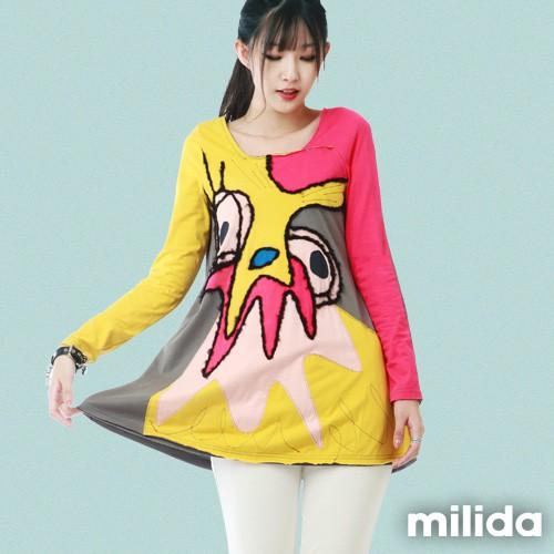 milida 經典款雞年設計洋裝 MMRYHA001