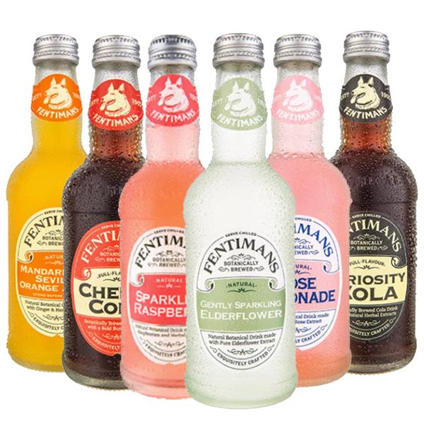 【Fentimans】英國草本清涼氣泡飲 - 五種口味 ( 6入 $798,12入 $1580 )