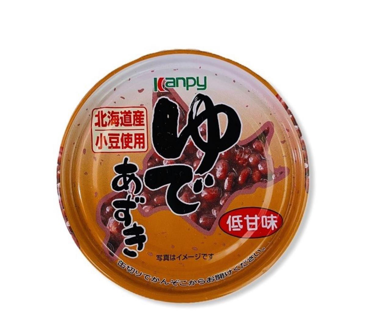 kanpy 北海道產紅豆罐頭 190g