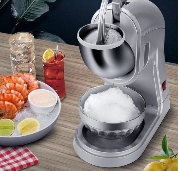 商用碎冰機電動刨冰機奶茶店火鍋店打冰機壽司店打大型自動沙冰機 麻吉好貨