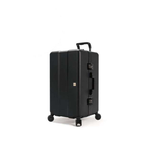 【OUMOS】 2019 New Double Black 雙層黑 29 吋旅行箱*加贈香氛包一組*