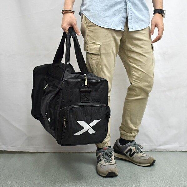旅行袋 個性 X 大容量行李袋【NZB43】