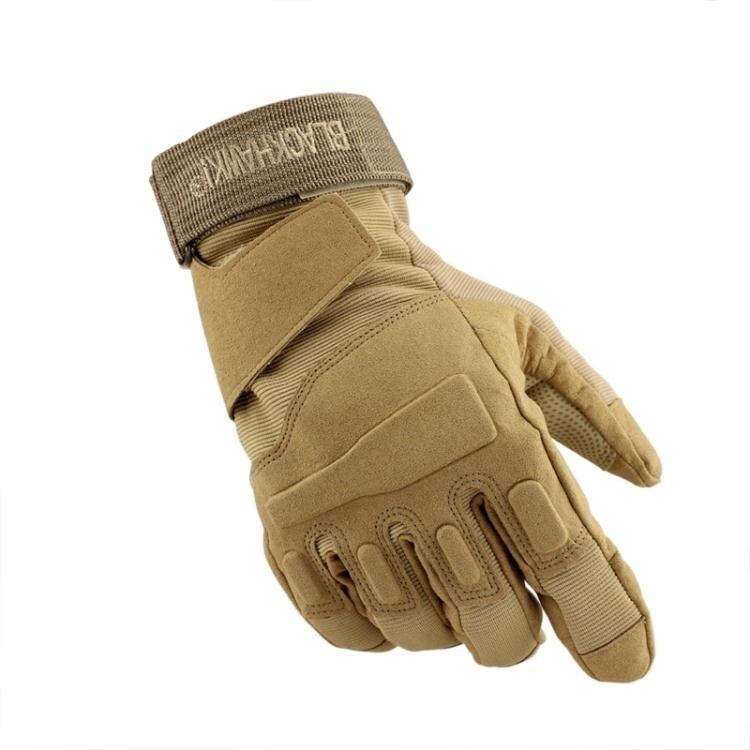 機車手套 全指手套男冬季保暖登山半指健身騎行機車摩托裝備特種兵戰術手套