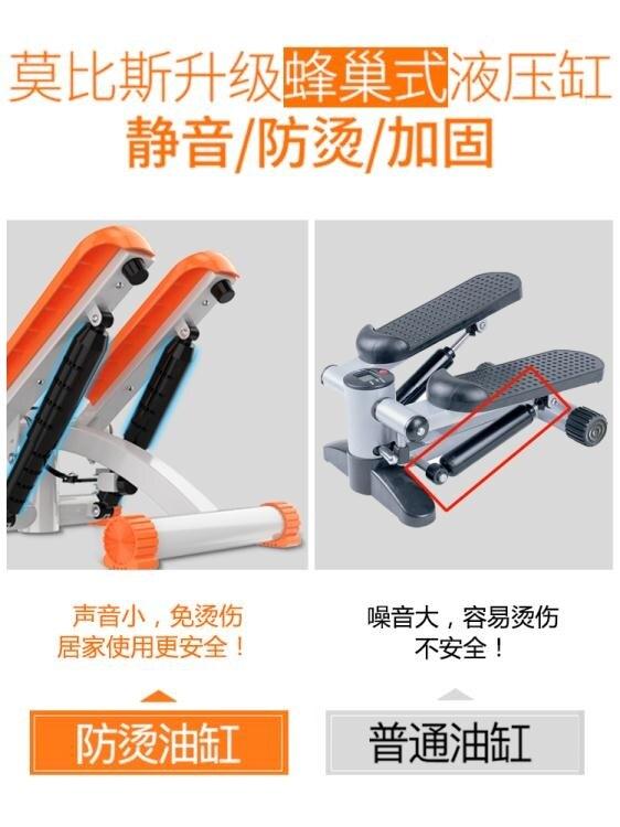 小型健身器材家用踏步機家用減肥機運動器材家用女生腳踏機健步機YJT 【新春快樂】
