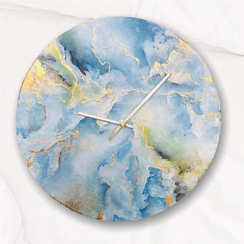 原創-石紋 畫鐘  被遺忘的雨季