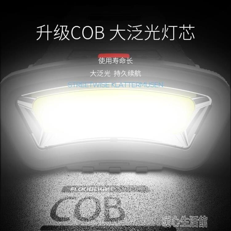 頭燈頭燈充電頭戴式強光超長續航工作散光大光圈超亮電工泛光工地割