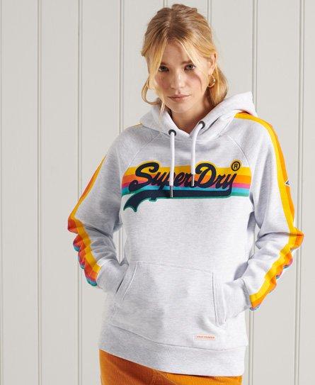 Superdry Vintage Logo Cali Raglan Hoodie