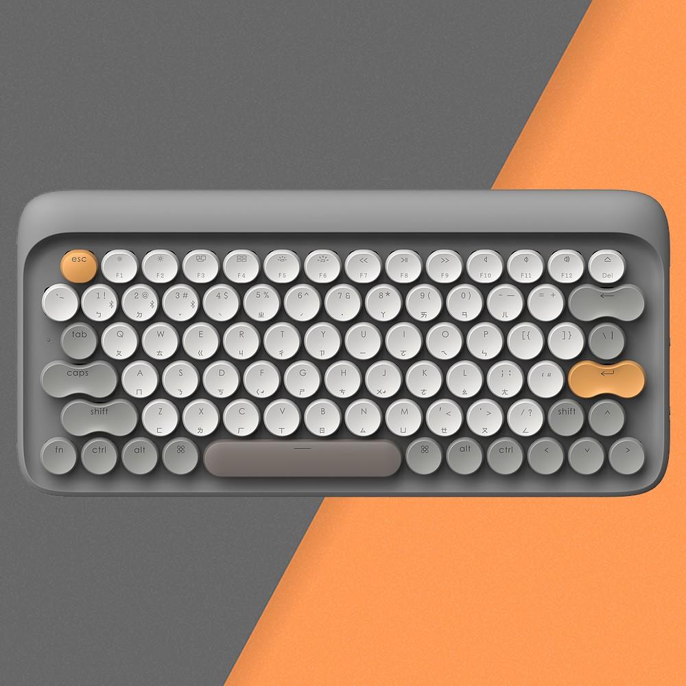 LOFREE 打字機鍵盤|全球限定注音版 (秋 / 灰)<現貨><免運>