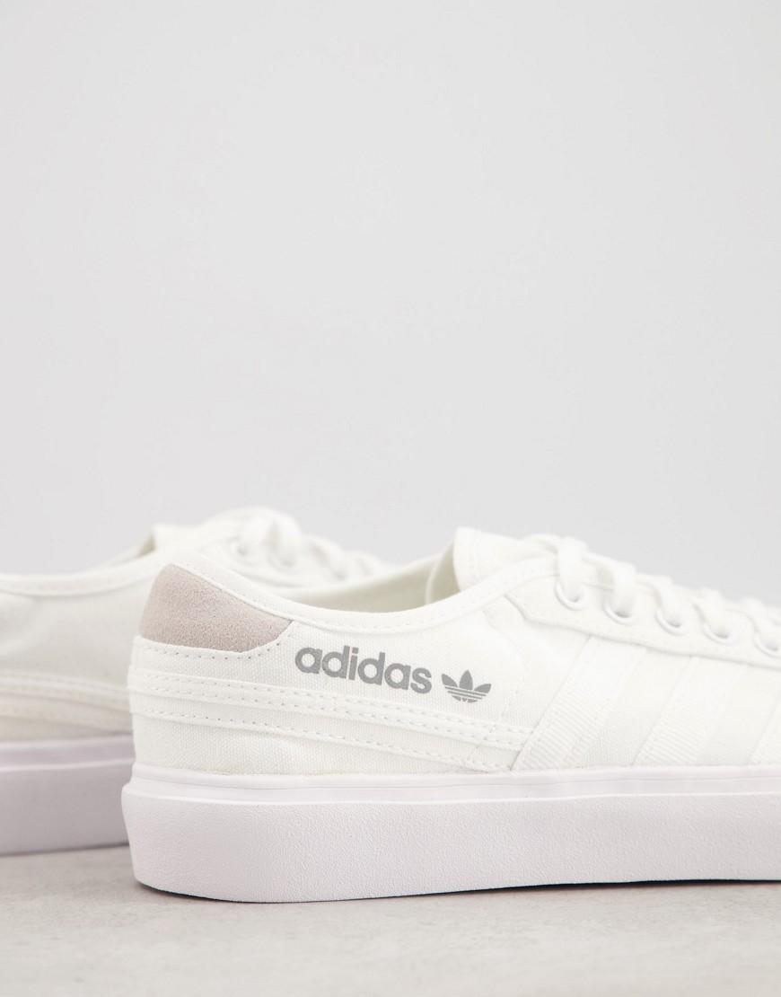 adidas Originals Delpala trainers in white