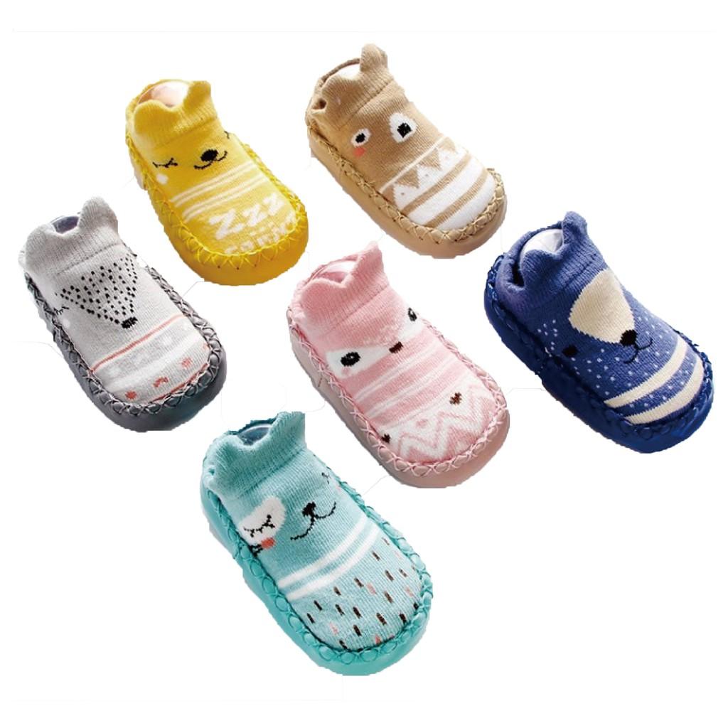 【KACAKID】防滑地板襪鞋/學步鞋/室內鞋/嬰兒襪