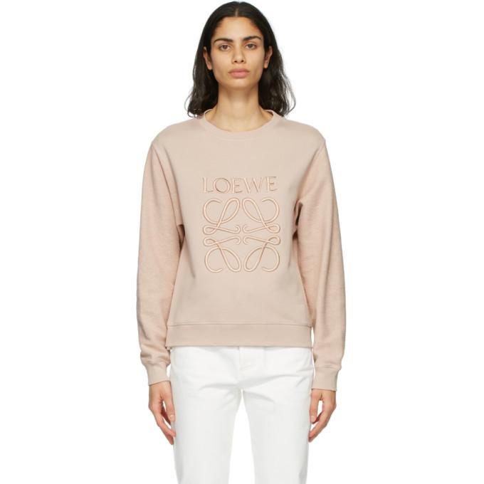 Loewe 粉色 Anagram 套头衫