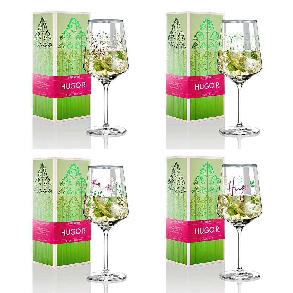 【德國RITZENHOFF】HUGO R酒杯-共4款《拾光玻璃》 玻璃杯 高腳杯 葡萄酒杯 雞尾酒杯 果汁杯 開胃酒杯