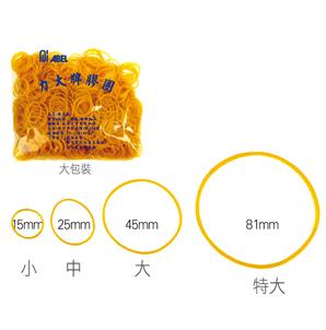 【曉童文具】力大ABEL 25mm橡皮筋 4兩入