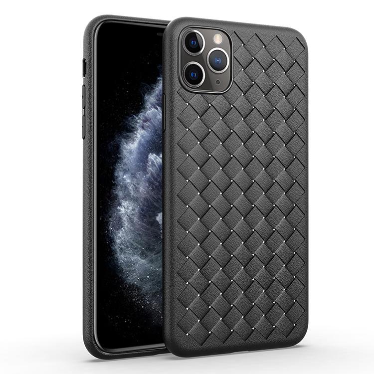 [現貨] 蘋果 iPhone SE/11/11 PRO/11 PRO MAX/X/XS/XS MAX/XR/8/7 系列 散熱透氣BV風格編織紋手機殼【QZZZ30264】