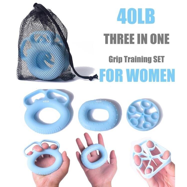 硅膠分指握力圈指力康復訓練握力器指力器手指彈湊力量訓練撐力器 麻吉好貨