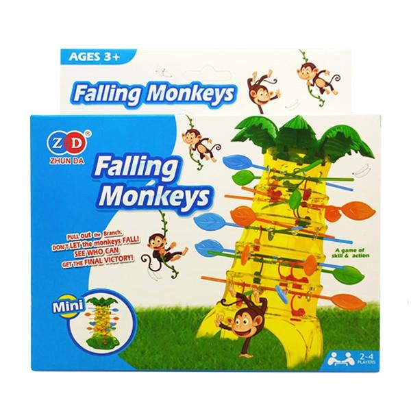 1025 猴子翻滾遊戲-迷你 多人聚會團康遊戲桌遊 親子同樂互動玩具 桌遊