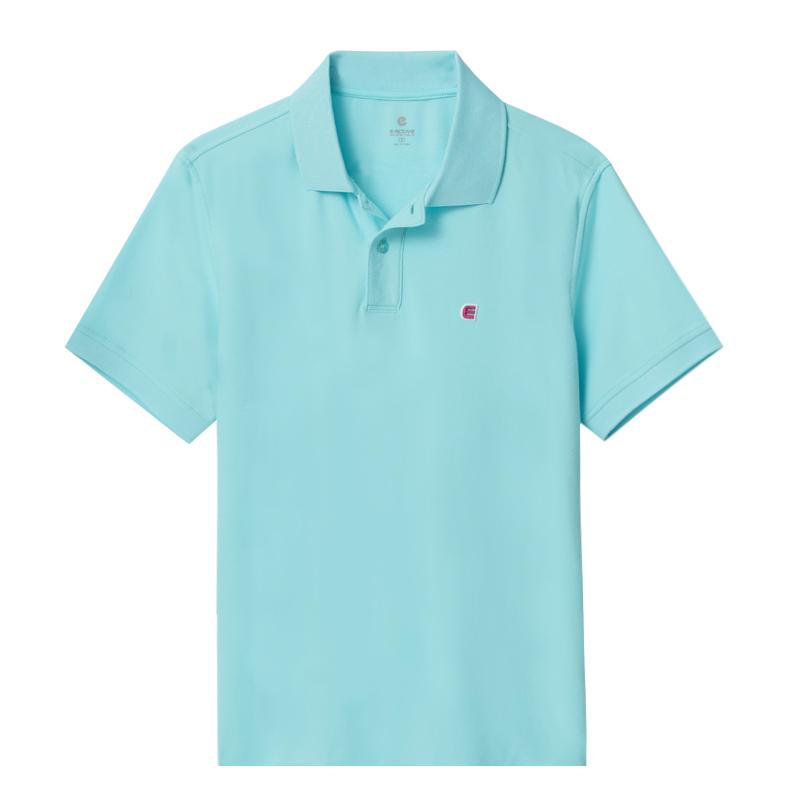 吸濕排汗POLO衫(水藍)-男