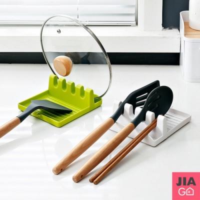 JIAGO 鍋鏟架鍋蓋架湯勺架