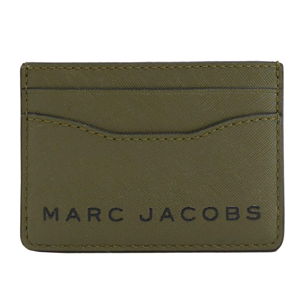 MARC JACOBS 馬克賈伯 專櫃商品 壓印LOGO信用卡名片夾.綠