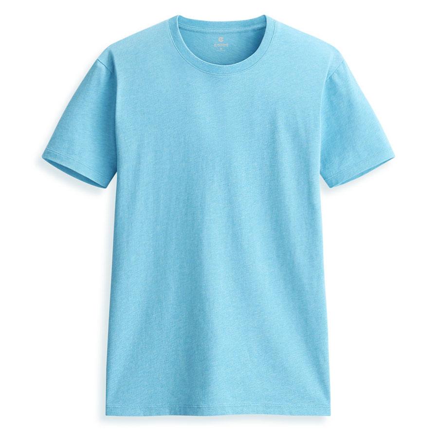 ERSS棉圓領T恤(水藍)-男