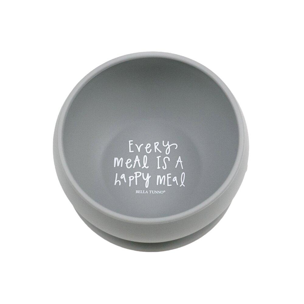 美國 BELLA TUNNO 吸盤FUN碗 (EVERY MEAL IS A HAPPY MEAL 每一餐都是快樂兒童餐)