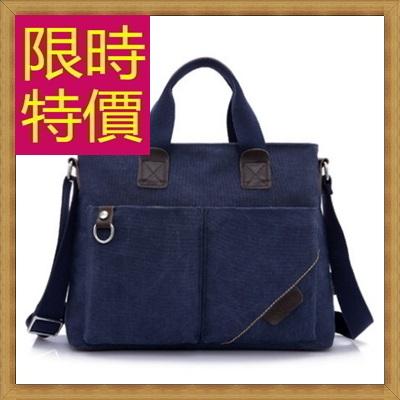帆布包 手提包-大容量旅行出遊攜帶方便男側背包4色59j87【獨家進口】【米蘭精品】