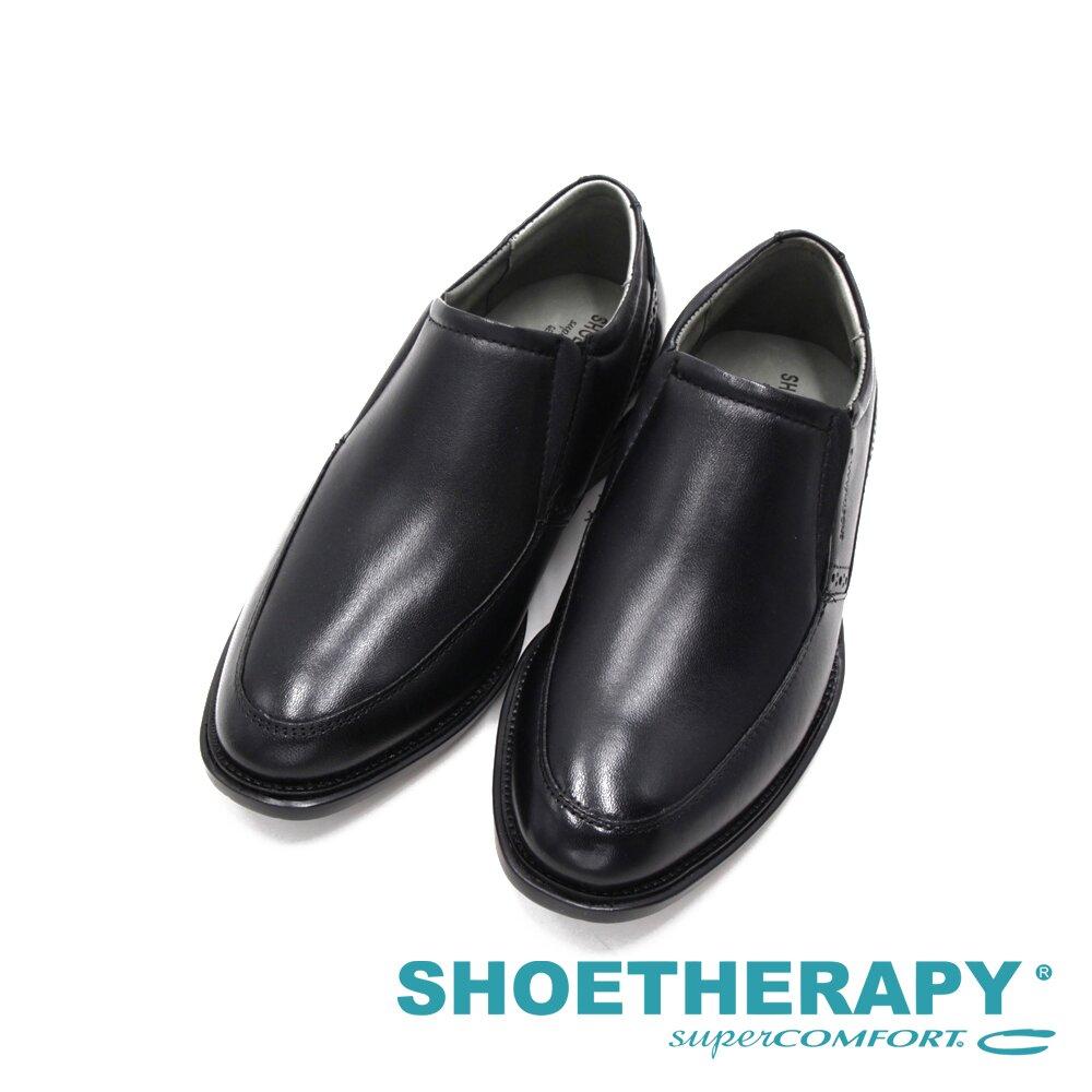 SAPATOTERAPIA巴西男士 直套懶人皮鞋-黑(另有棕)