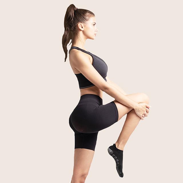 澳洲 YPL 蜜桃臀短褲 立體編織 收腰提臀 素色無字款