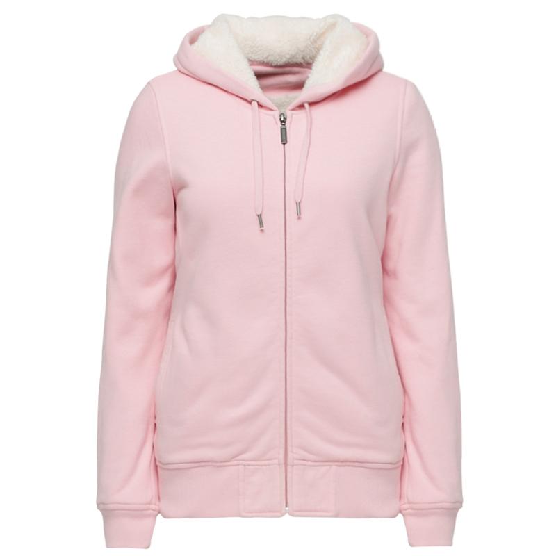 基本舖毛針織外套(粉紅)-女